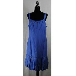 Michael Kors | Size 14 | Blue Ruffle Hem Dress